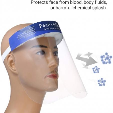 Visiera facciale protettiva CE Visiera protettiva