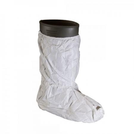 Copri stivali anti agenti chimici con suola antiscivolo in PVC
