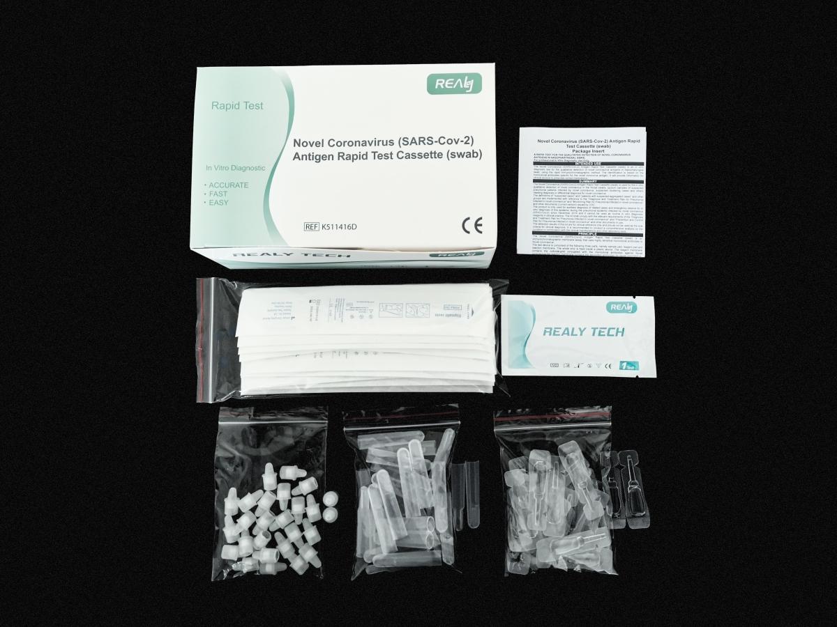 Tampone rapido Covid19 antigene - Realy Tech