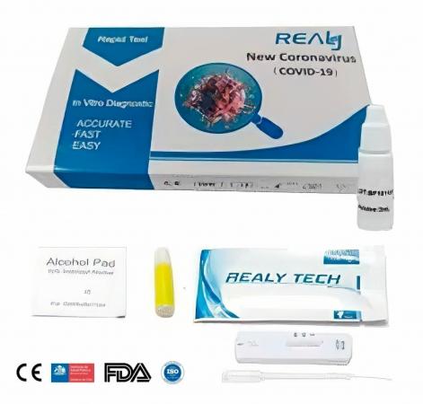 Test sierologico rapido Covid19 IgG/IgM - Realy Tech Test e tamponi rapidi Covid-19